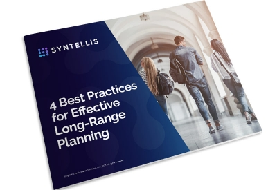 eBook thumbnail - 4 Best Practices for Long-Range Planning in Higher Education