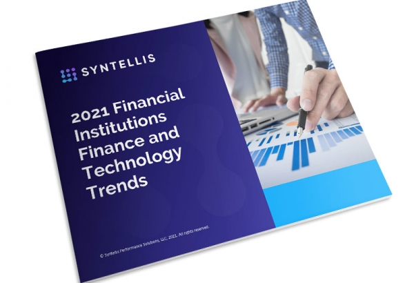 Report thumbnail - 2021 Financial Institutions Financial Technology Trends